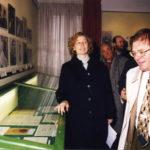 Visita del ministro Melandri con F. Corleone