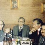 Da sinistra: N. Carloni, G. Tintori, R. Vlad, F. Sanvitale