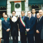 Inaugurazione placca in onore di Tosti a Londra, 1996