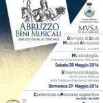 ABM GIORNATE DI STUDI MUSICALI ABRUZZESI  2016