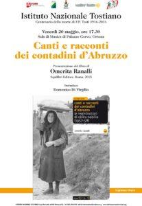 Canti e racconti dei contadini d'Abruzzo