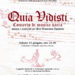 concerto Quia Vidisti