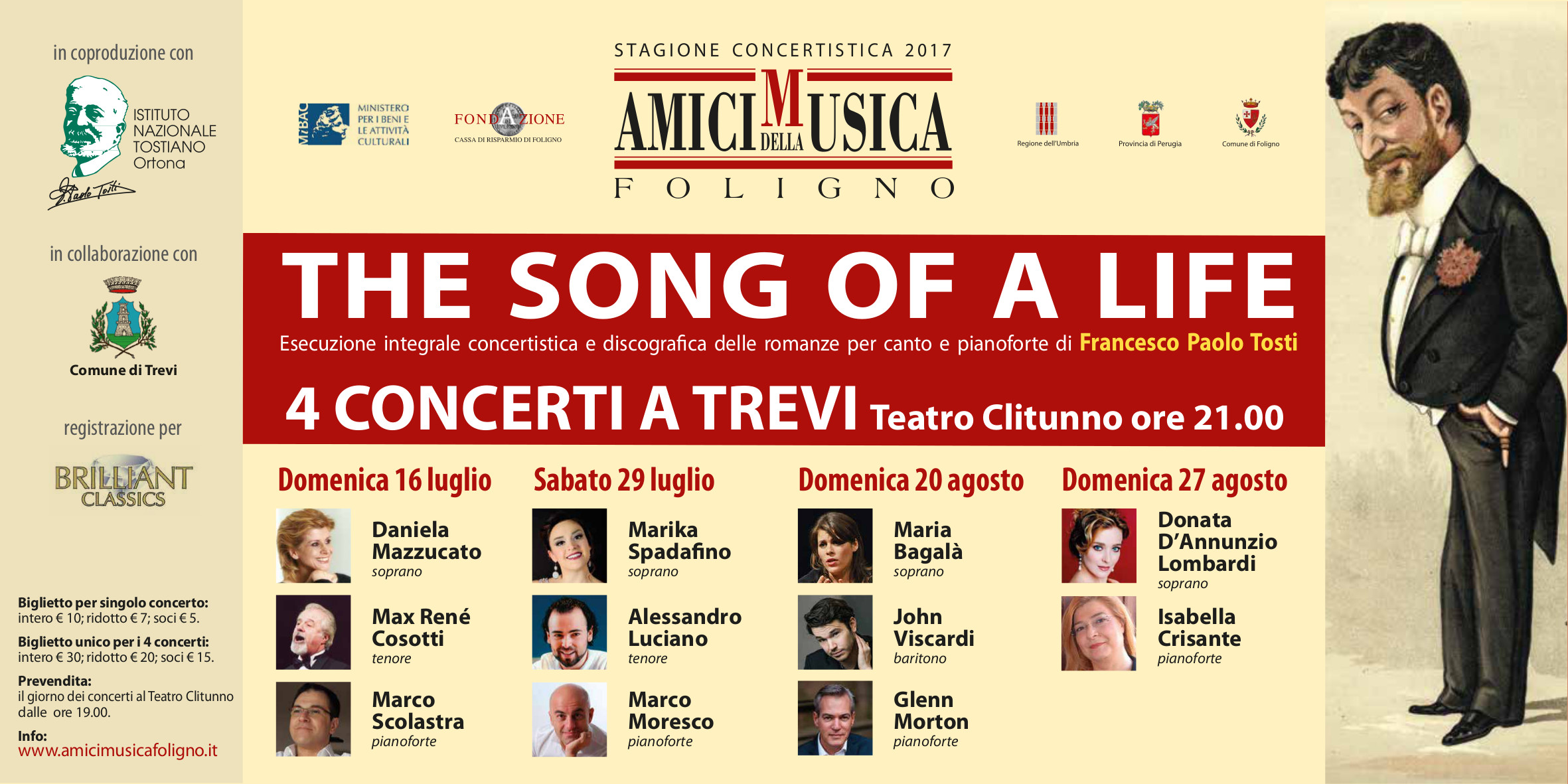THE SONG OF A LIFE _ generale 2017